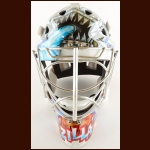 2007-08 Olaf Kolzig Washington Capitals Game Worn Mask – Photo Match