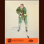 Elmer Vasko Single Signed January 6, 1968 California Golden Seals Full Program - Inaugural Season - Deceased