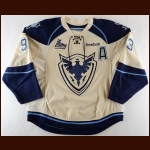 2012-13 Jean-Christophe Laflamme Sherbrooke Phoenix Game Worn Jersey - Inaugural Season – Photo Match