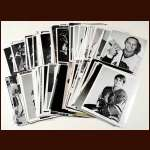 Lot of 150 Chicago Black Hawks B&W photos Mostly from the 1973-74 Season