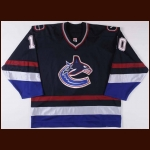 2003-04 Brad May Vancouver Canucks Game Worn Jersey – Team Letter