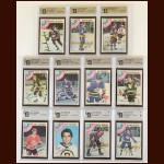 Lot of (11) 1978-79 OPC Los Angeles Kings Autographed Cards – GAI Certified