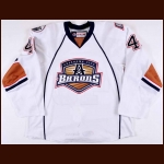2014-15 Martin Gernat Oklahoma City Barons Game Worn Jersey – Team Letter