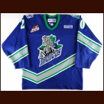 Early 2000's Jeremy Williams Swift Current Broncos Game Worn Jersey