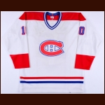 1981-82 Guy Lafleur Montreal Canadiens Game Issued Jersey