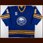 "1979-80 Gilbert Perreault Buffalo Sabres Game Worn Jersey – ""1980 Lake Placid Olympic"" - All Star Season"