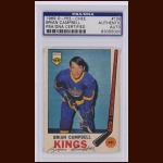 Brian Campbell 1969 OPC – Los Angeles Kings – Autographed – PSA/DNA
