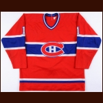 1982-83 Rick Wamsley Montreal Canadiens Game Worn Jersey - Photo Match - The Rick Wamsley Collection – Rick Wamsley Letter