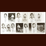 Cleveland Barons Autographed Group of (7) – Includes Deceased