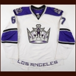 2009-10 Marc-Andre Cliché Los Angeles Kings Pre-Season Game Worn Jersey – Team Letter