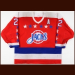 "1988-89 Shawn ""The Barbarian"" Cronin Baltimore Skipjacks Game Worn Jersey"