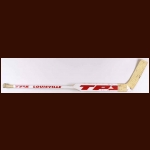Dominik Hasek Detroit Red Wings White Louisville Game Used Stick