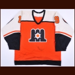 1986 Archie Henderson Maine Mariners Game Worn Jersey