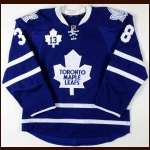 "2011-12 Jay Rosehill Toronto Maple Leafs Game Worn Jersey - ""Sundin Night"" - Team Letter"