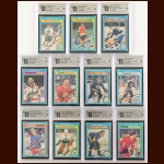 1979-80 OPC Autographed Card Group of (11) – Includes Deceased – All GAI Certified