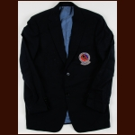Bill Gadsby Hockey Hall of Fame Induction Jacket – Includes Travel Bag and Hockey Hall of Fame Membership Card – The Bill Gadsby Collection – Edna Gadsby Letter
