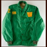 1974-75 Jack Chipchase Philadelphia Firebirds Green Fleece Jacket – Inaugural Season