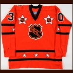 "1974-75 Gary ""Suitcase"" Smith NHL All Star Game Worn Jersey"