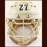Early 1980's Kevin Conley Yale University Game Worn Helmet