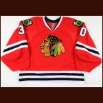 2011-12 Ray Emery Chicago Blackhawks Game Worn Jersey – Team Letter