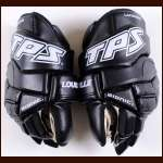 Ian Laperriere Los Angeles Kings Black Louisville Gloves - Unused