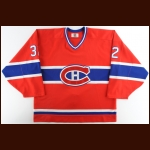 1998-99 Brad Brown Montreal Canadiens Game Worn Jersey – Team Letter