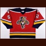 1996 David Nemirovsky Florida Panthers Game Worn Jersey – Team Letter