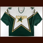 2003-04 Chris Therien Dallas Stars Game Worn Jersey – Photo Match – Team Letter