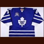 "1998-99 Yannick Tremblay Toronto Maple Leafs Game Worn Jersey – ""Memories & Dreams"""