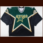 2005-06 Steve Ott Dallas Stars Game Worn Jersey - Photo Match – Team Letter