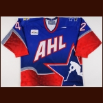"1997-98 Rory Fitzpatrick AHL All Star Game Worn Jersey – ""1998 Syracuse All Star"""