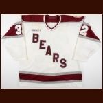 "1992-93 Shawn ""The Barbarian"" Cronin Hershey Bears Game Worn Jersey"