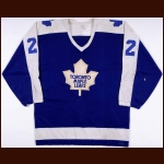 "1978-79 Dave ""Tiger"" Williams Toronto Maple Leafs Game Worn Jersey - Photo Match - Video Match – Tiger Williams Letter"