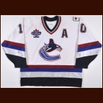 "1997-98 Pavel Bure & Brian Bellows Vancouver Canucks Game Worn Jersey – ""Game One '97 Japan NHL""- ""1998 Vancouver NHL All Star Game"" – Photo Match"
