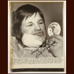 Keith Magnuson Autographed 8x10 Wire Photo – Deceased