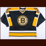 1997-98 Dave Ellett Boston Bruins Game Worn Jersey