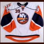 2008-09 Rick Dipietro New York Islanders Game Worn Jesey - Photo Match - Team Letter