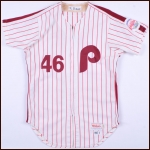 1986 Kevin Gross Philadelphia Phillies Game Worn Jersey