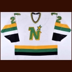 1989-90 Ulf Dahlen Minnesota North Stars Game Worn Jersey