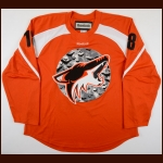 2011-12 Patrick O'Sullivan Phoenix Coyotes Halloween Warm-Up Jersey – Team Letter