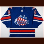 1987-88 Jody Gage Rochester Americans Game Worn Jersey - AHL Most Valuable Player - 60-Goal - 104-Point Season