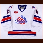 Nick Crawford Rochester Americans Game Worn Jersey – Photo Match