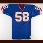 1980's Carl Banks New York Giants Game Worn Jersey