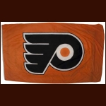Philadelphia Flyers Logo Banner From Outside the Philadelphia Spectrum