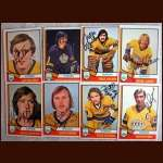 1974-75 OPC Autographed Kings group of 8