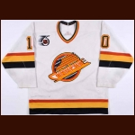 1991-92 Pavel Bure Vancouver Canucks Game Worn Jersey – Rookie - Calder Trophy