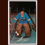 Glenn Hall St. Louis Blues Autographed Color Postcard