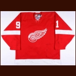 1998-99 Sergei Fedorov Detroit Red Wings Game Worn Jersey