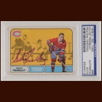 Gilles Tremblay 1968 OPC - Montreal Canadiens - Autographed - Deceased - PSA/DNA