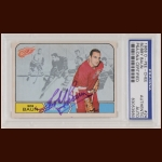 Bob Baun 1968 OPC - Detroit Red Wings - Autographed - PSA/DNA